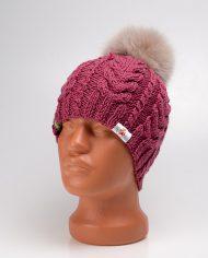 hat_braids_cranberry_pompon01